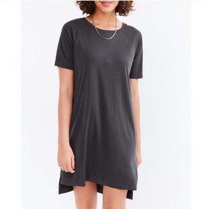 Silence and Noise Black Tee Shirt Dress